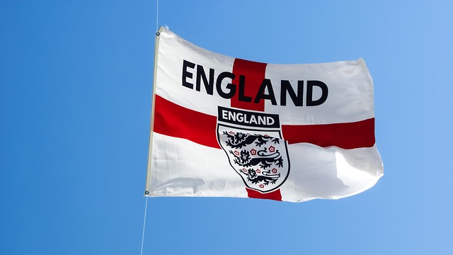 vlajka v anglii