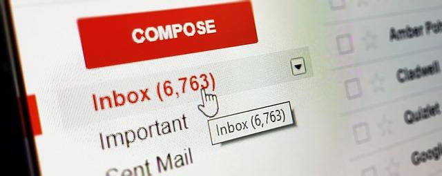 doručený email