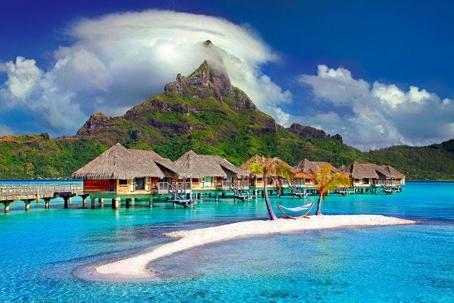 exotická dovolenková destinácia