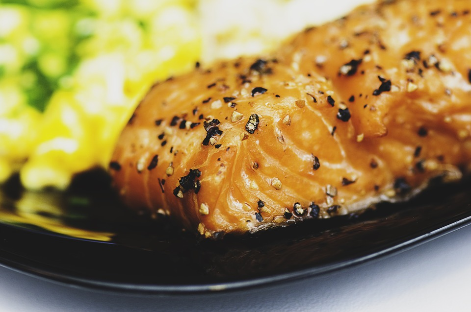 losos, jedlo
